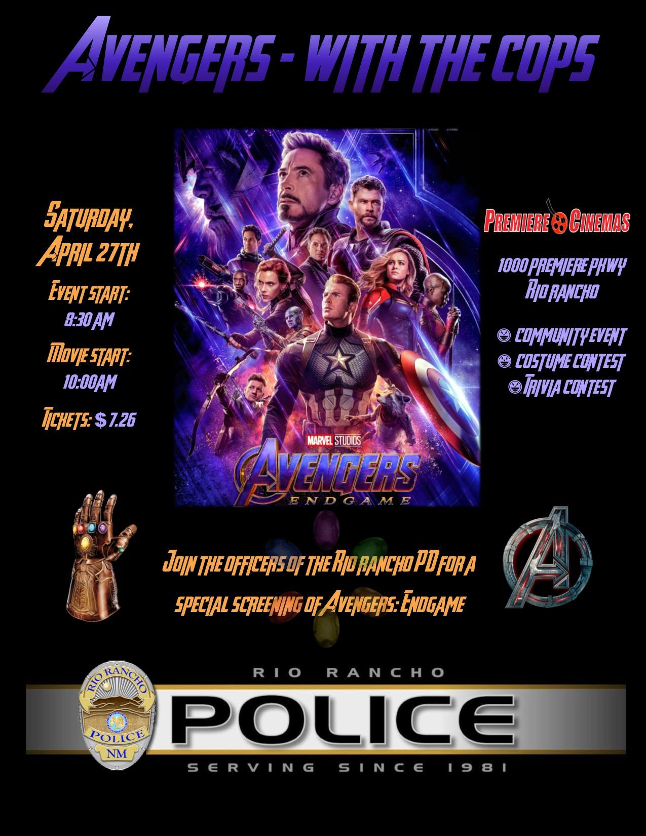 Avengers with the Cops